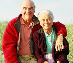 Couple, Senior Services, Telephone Check-in in Upper Arlington, OH